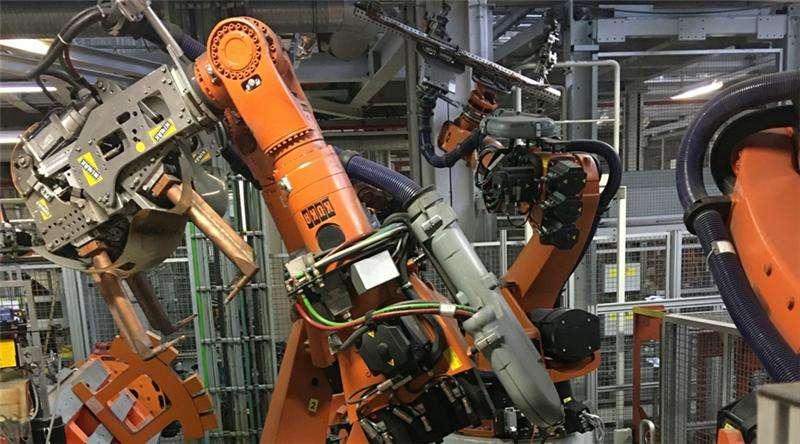 工业上机器人自动焊接技术优势