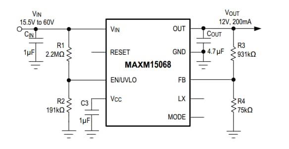 MAXM15068AMB+ MaximIntegrated MAXM15068稳压器IC和电源模块