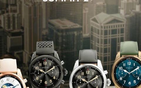 万宝龙与中国联通联合发布了一款智能手表SUMMIT2+