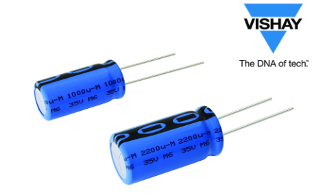 Vishay推出小型铝电容器,可提高系统设计灵活性,并节省电路板空间
