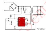 美甲灯开关电源方案芯片U6315B