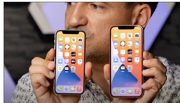 除了屏幕和电池,iPhone 12 mini其余...