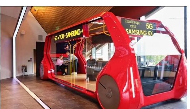 三星英国宣布:将在英国推出5G公交专线