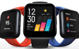 Realme Watch S的正式发布日期现已正式!