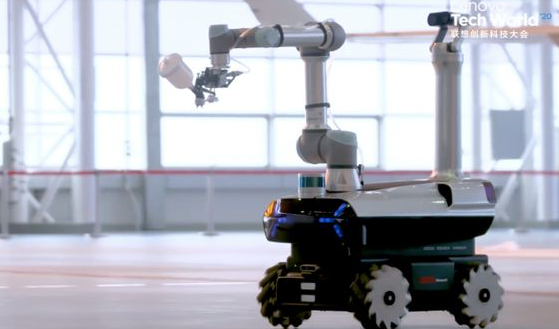 披露联想自研工业机器人细节,采用5G远程控制