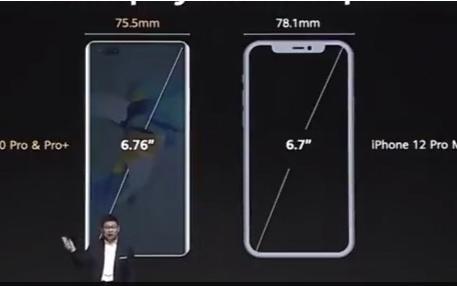 华为和iPhone 12正面硬刚