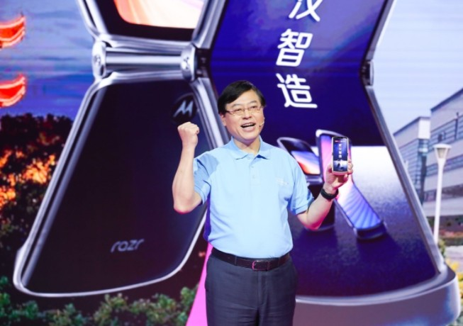 联想第二代刀锋5G折叠屏手机,是武汉智造!