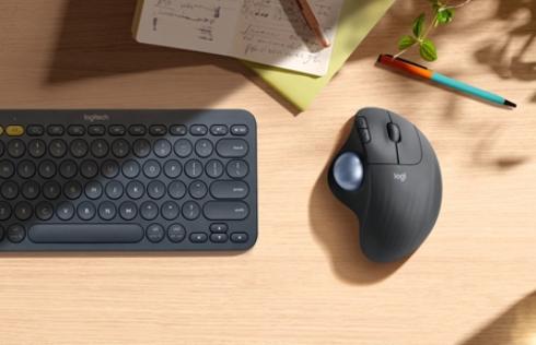 罗技发布新款无线轨迹球鼠标,新增蓝牙双模支持