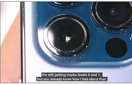 超瓷晶面板:iPhone 12 Pro不负众望