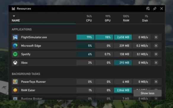 Win10全新任务管理器上线,旨在优化PC游戏