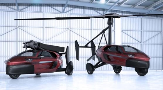 全球首台飞行汽车PAL-V Liberty被批上路行驶