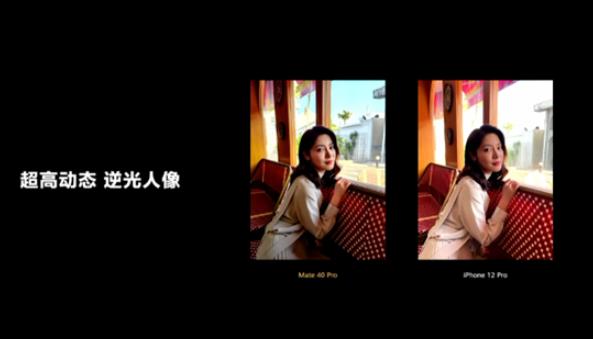 Mate40系列传感器面积是业界最大,拍照完胜苹果苹果系列