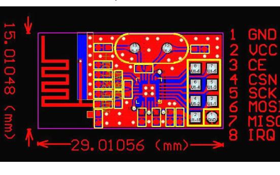 NRF24L01单片无线收发器芯片的使用说明