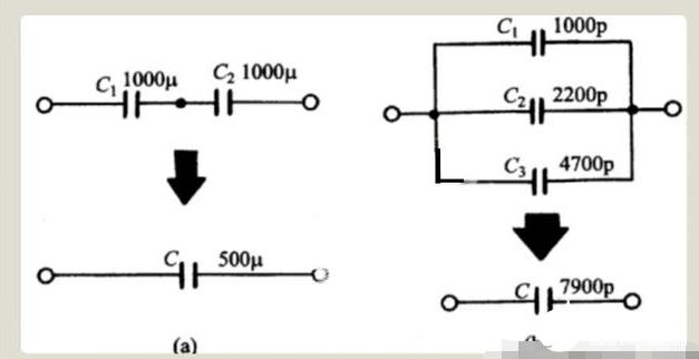 电容串联和并联的电路图及作用解析
