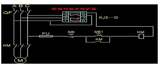 相序保護器的工作原理詳細介紹