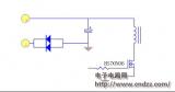 利用二極管的單向導電性來實現防反接保護
