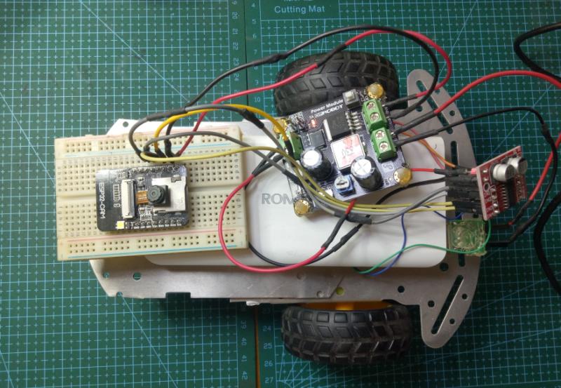 基于ESP32-CAM视频遥控车方案解析