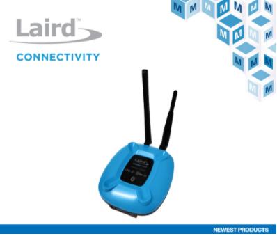 結合藍牙5和低功耗蜂窩通信的Laird Connectivity Sentrius MG100網關在貿澤開售