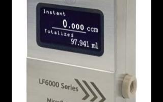 微液体流量计LF6000系列特点及在流体控制装置中的应用