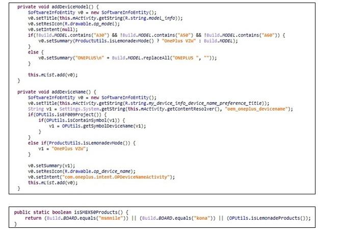 一加手机海外版系统OxygenOS代码中发现了一加9的踪迹