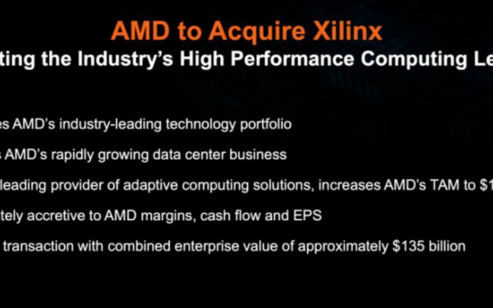 AMD官宣收购赛灵思,对国内半导体行业有什么影响