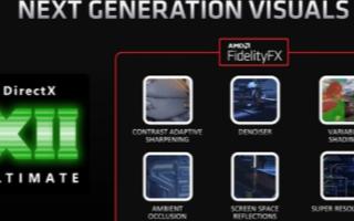 AMD RX 6000系列显卡首次支持硬件光线追踪