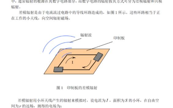 通讯产品电路设计中的电磁波辐射和辐射抗扰性问题