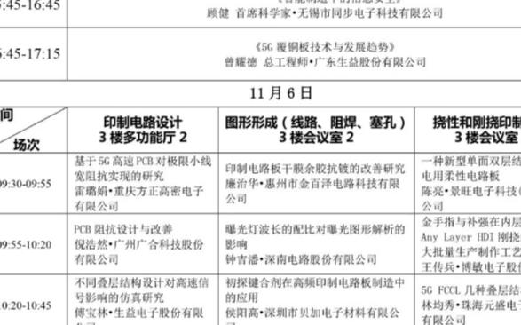 2020中日电子电路秋季大会特邀演讲介绍