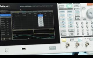 任意波形 / 函數發生器滿足測試需求,主要應用在...