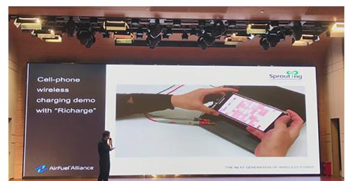 """""""蕊磁""""隔空无线充电技术亮相2020无线充电亚洲展"""