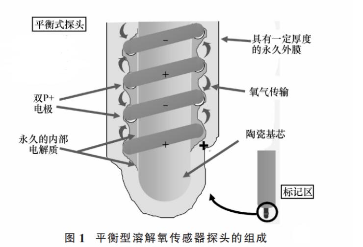 平衡型溶解氧传感器的组成及工作原理