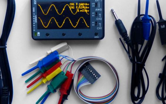 開源mini型便攜式混合示波器設計方案