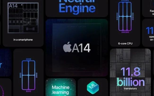 电子显微镜下的苹果A14芯片