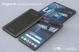 LG折叠屏和卷屏智能机的概念设计曝光 或采用打孔...