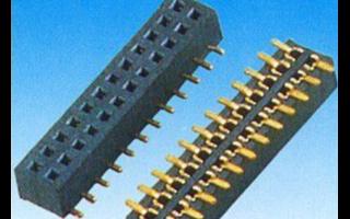 一系列高性价比的2.54mm无护罩排针