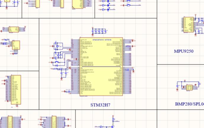 STM32H750/743核心板 带传感器mpu...