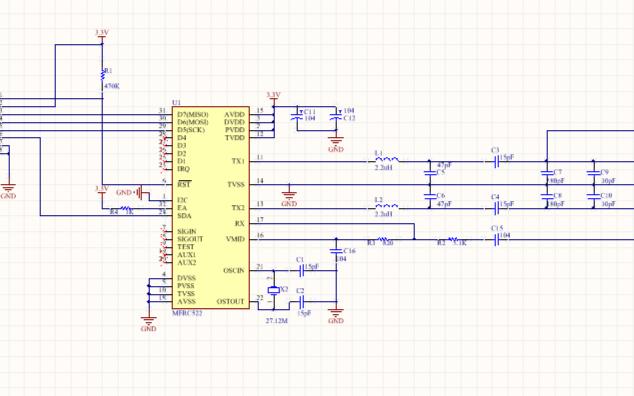 RC522 RFID射频模块介绍
