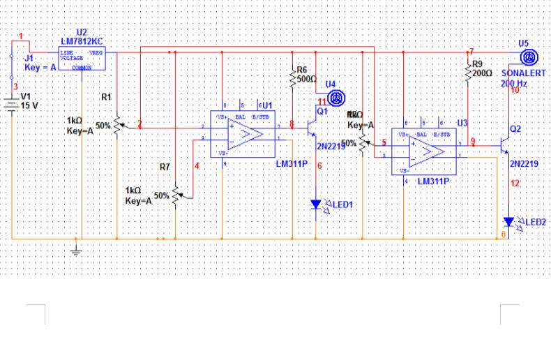 直流電源電壓監控電路設計題免費下載