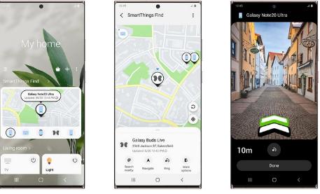 三星已啟動SmartThings Find,這是應用程序中的一項新服務