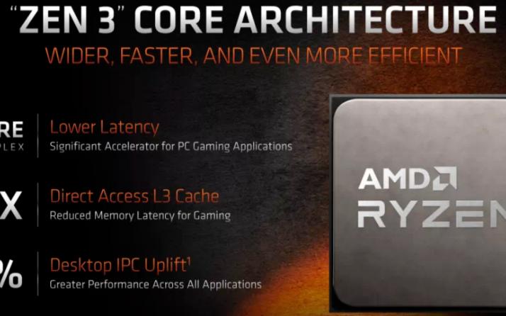 全新的AMD CPU核心:ZEN 3