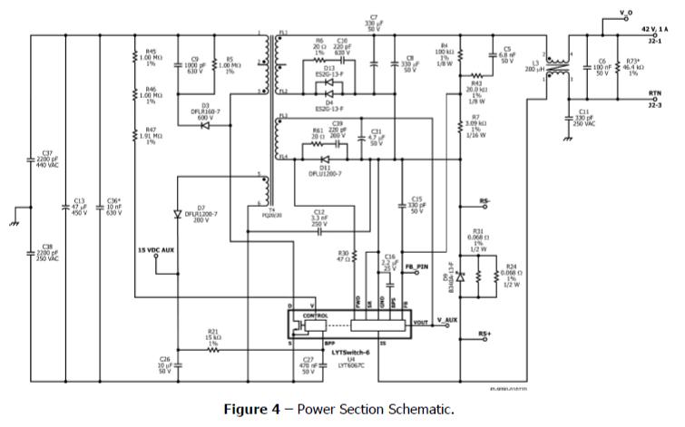使用PFS7623C和LYT6067C實現反激式PWM可調光LED鎮流器的資料說明