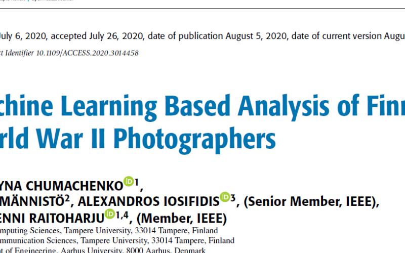 人工智能可以帮助我们找到图片背后的摄影师