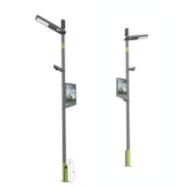 智慧灯杆+新能源充电桩系统架构和应用场景