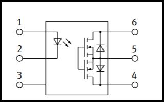 AQV252G固態繼電器穩壓管的數據手冊免費下載