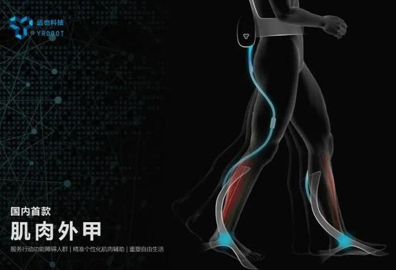 中国首款肌肉外甲问世,是一种新型穿戴机器人设备