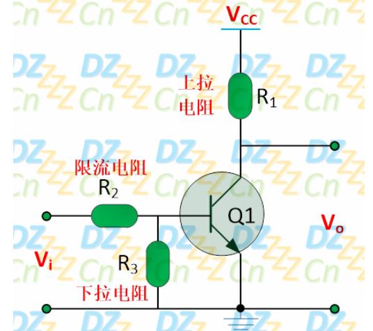 三极管电路图设计 电灯泡控制开关电路仿真实验