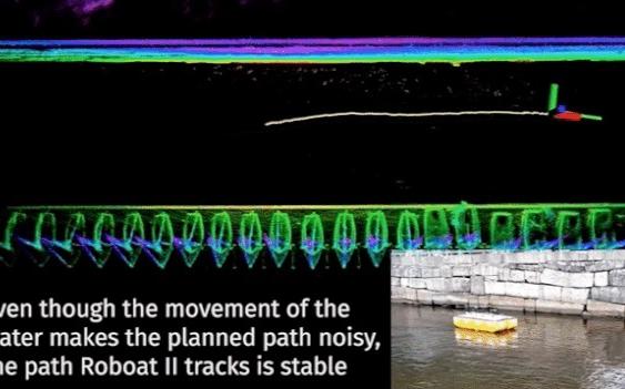 可以自主移动的自动驾驶船:可载6人