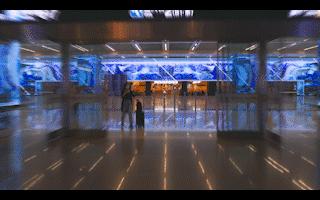 艾比森1800㎡創意大屏亮相虹橋樞紐