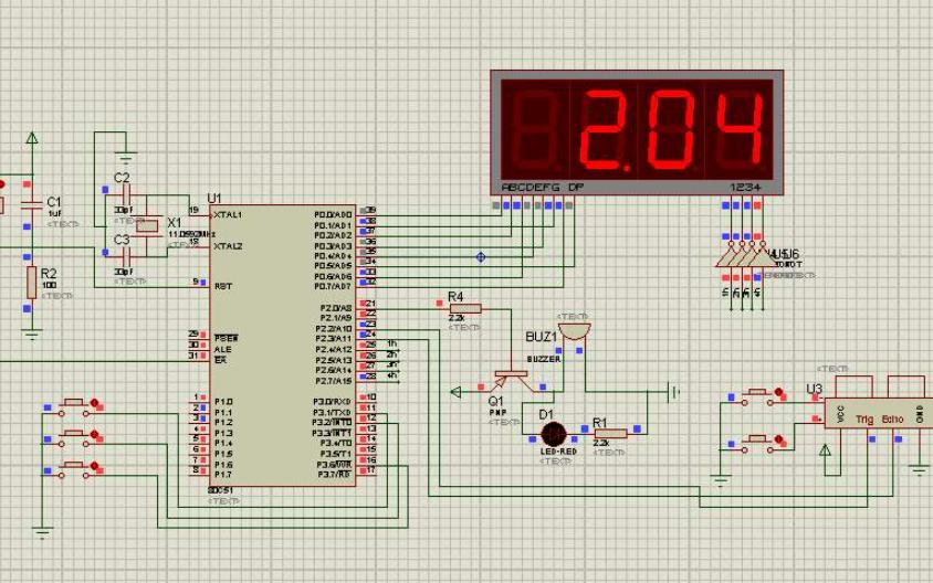 使用STM32F103单片机实现超声波测距OLED显示的设计程序和电路图