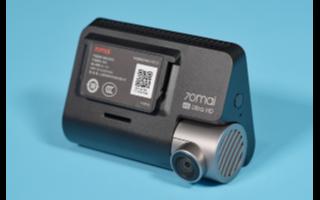 70迈智能行车记录仪A800评测,支持双路Sensor输入处理实现前后双录